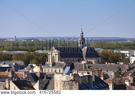 The Church Of Notre-dame-de-la-gloriette Is A Church In The Old City Center Of Caen That Was Built B