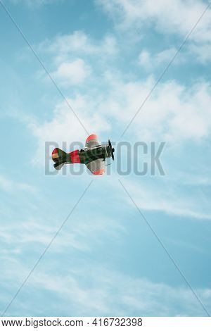 Old Russian Fighter Plane From Spanish Civil War