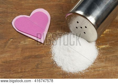 Salt Causing High Blood Pressure And Heart Comorbidities