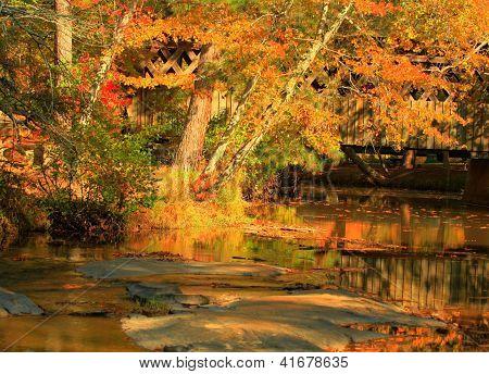 Fall at Pools Mill