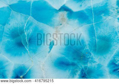 Macro Stone Jasper Mineral On White Background