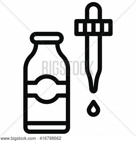 Flavoring Icon, Bakery And Baking Related Vector Illustration