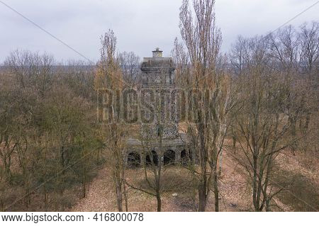 Built In The Years 1908 - 1909 On The Gallows Hill, The Tower In Honor Of The German Emperor Otto Vo