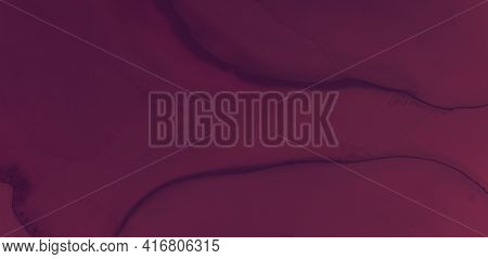 Red Wine Splash. Watercolor Maroon Pattern. Modern Alcohol Cover. Bright Winery Template. Color Wine