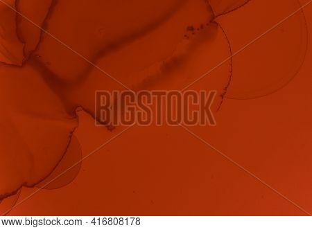 Blood Spatter Black. Abstract Valentine Background. Halloween Pattern. Splash Of Liquid Ink. Blood S