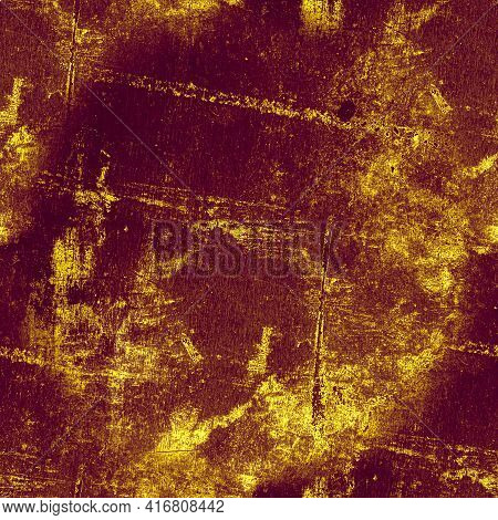 Rough Abstract Dirty Texture. Rusty Paint Dust Surface. Grunge Crack Sketch. Overlay Grungy Backgrou