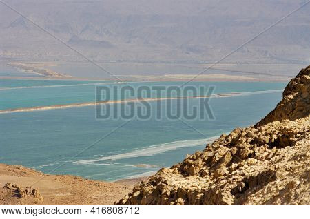 Dead Sea View, Lowest Place On Earth.