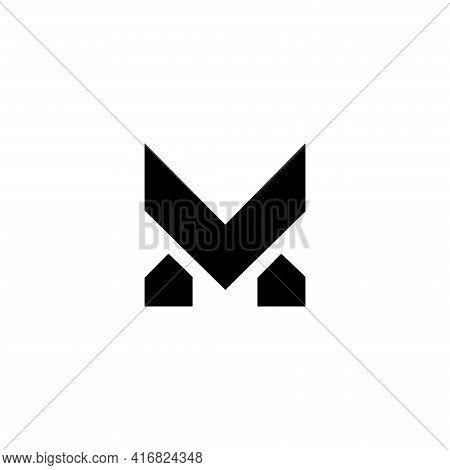 Simple Creative M Monogram Logo Designs Template