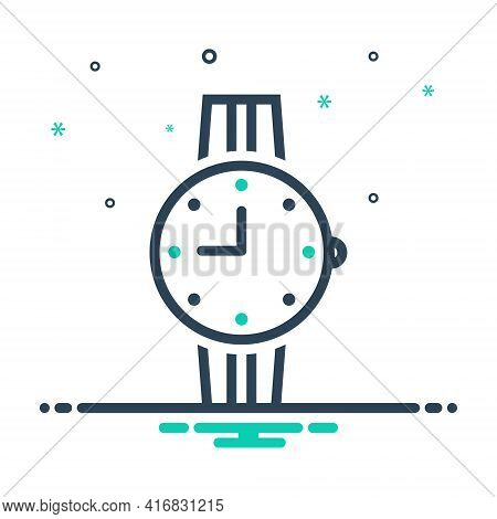 Mix Icon For Watches  Time Clock  Wrist-watches