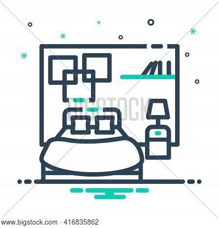 Mix Icon For Bedroom Dorm Dormer Furniture Living-room Sleep