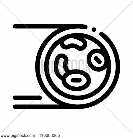 Healthy Artery Line Icon Vector. Healthy Artery Sign. Isolated Contour Symbol Black Illustration