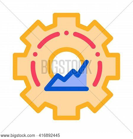 Process Policy Color Icon Vector. Process Policy Sign. Isolated Symbol Illustration