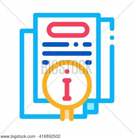 Corporate Compliance Policy Color Icon Vector. Corporate Compliance Policy Sign. Isolated Symbol Ill