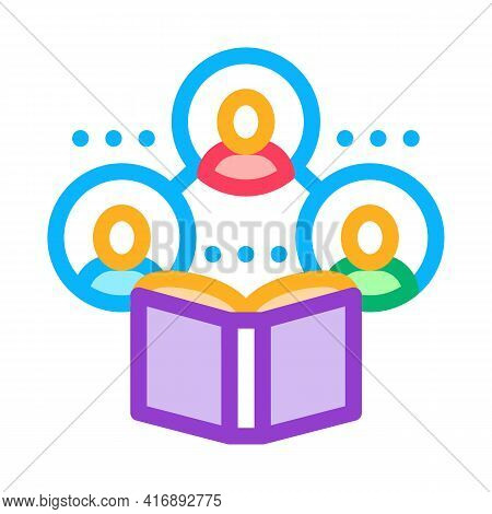 Sociology Researcher Color Icon Vector. Sociology Researcher Sign. Isolated Symbol Illustration