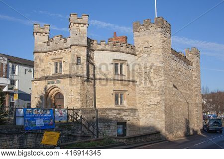 The Old Gaol, A Museum In Buckingham, Buckinghamshire In The Uk, Taken On The 26th November 2020