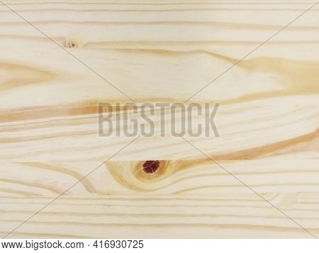 Light Beige Wooden Texture. Abstract Background For Design And Text. Natural Glued Spruce Board. Det
