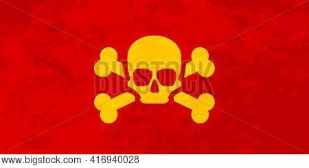 Pirate Flag Looks Like Ussr Communist Red Flag