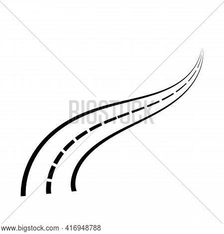 High Way Vector Symbol Template