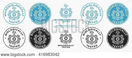 Concept For Product Packaging. Marking - Microbiologically And Biologically Protected. A Micromolecu
