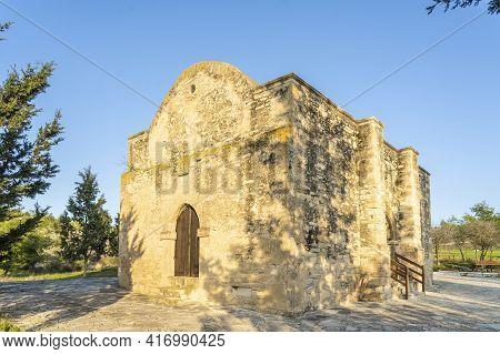 December 2020. Athienou, Larnaca Cyprus. The Church Of Arhangelou In Athienou, Larnaca Disrict, Cypr