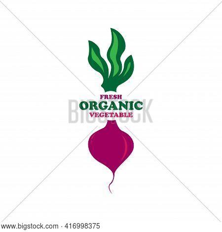 Bit Design Logo Vector. Bit Vegetable Vector