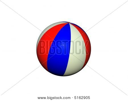 Isolated Beachball