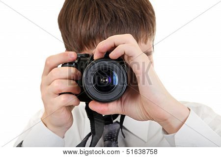 Person Take A Picture With A Camera