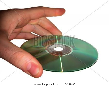 Holding A CD