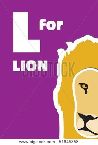 L For The Lion, An Animal Alphabet For The Kids