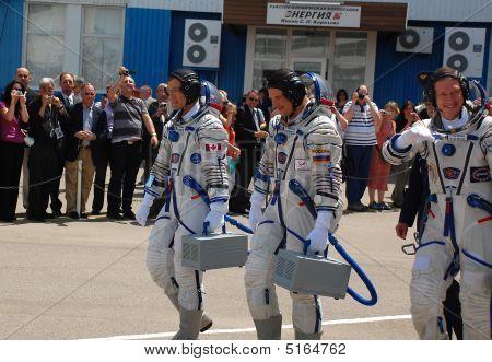 Soyuz Spacecraft Crewmembers