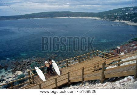 Afternoon Coastline Scene