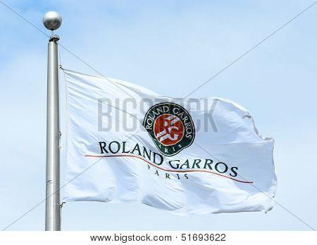 The Roland Garros flag