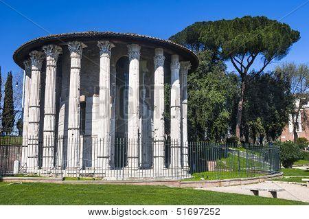 Temple Of Hercules, Rome