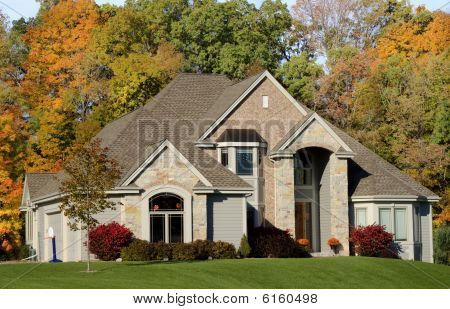 Autumn Luxury Stone Estate