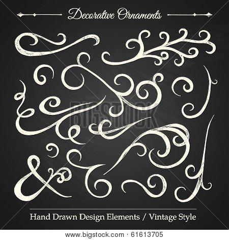 Decorative Ornaments - Halkboard 3