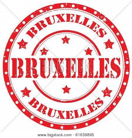 Brussels-stamp
