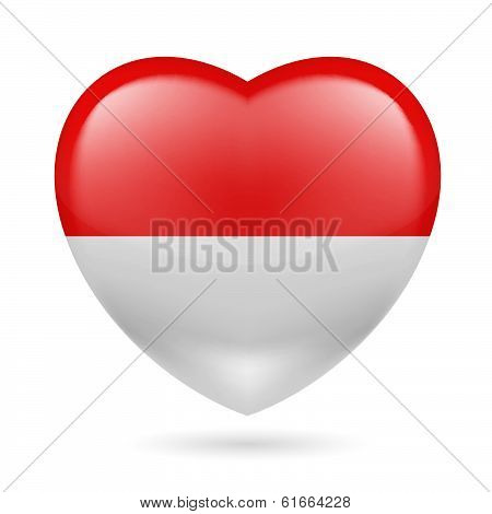 Heart icon of Monaco