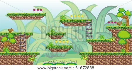 2D Tileset Platform Game 27.eps
