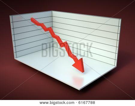 3D graph illustration