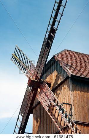 Old Windmill In Tykocin