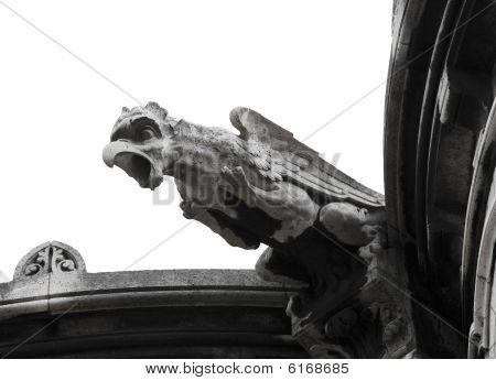 Close Up Of Sacre-coeur's Gargoyle