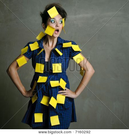 Secretary Overwhelmed