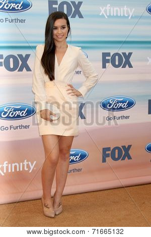LOS ANGELES - SEP 8:  Madalyn Horcher at the 2014 FOX Fall Eco-Casino at The Bungalow on September 8, 2014 in Santa Monica, CA