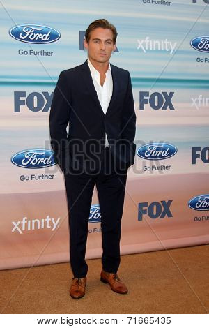 LOS ANGELES - SEP 8:  Kevin Zegers at the 2014 FOX Fall Eco-Casino at The Bungalow on September 8, 2014 in Santa Monica, CA