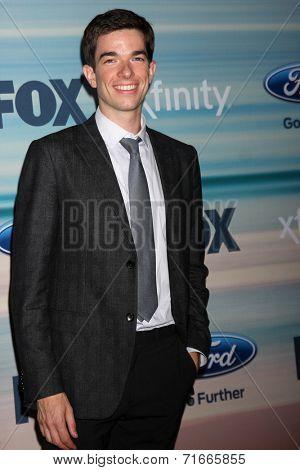 LOS ANGELES - SEP 8:  John Mulaney at the 2014 FOX Fall Eco-Casino at The Bungalow on September 8, 2014 in Santa Monica, CA