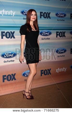 LOS ANGELES - SEP 8:  Rebecca Rittenhouse at the 2014 FOX Fall Eco-Casino at The Bungalow on September 8, 2014 in Santa Monica, CA