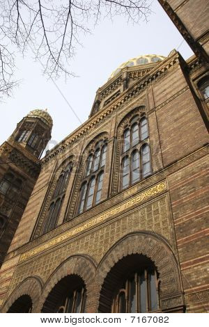 Famous Berlin Synagoge