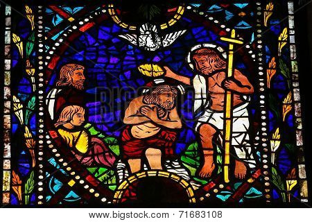 Baptism Of Jesus By Saint John