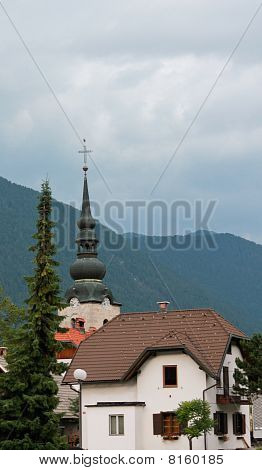 Church In Mountains