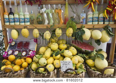 Amalfi Limoncello's Souvenir Shop